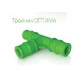 тройник ОПТИМА ф 16