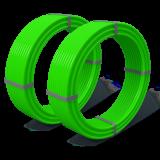 Труба БИР ПЕКС ОПТИМА ф 16-1.8; 200 метров (ПЭ-ПТ; Класс 5; PN 12,5; SDR 11)